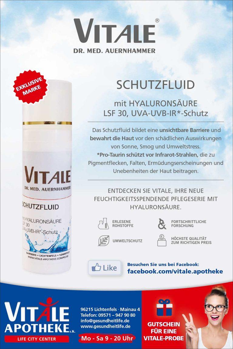 VITALE Dr. med. Auernhammer Schutzfluid Anzeige