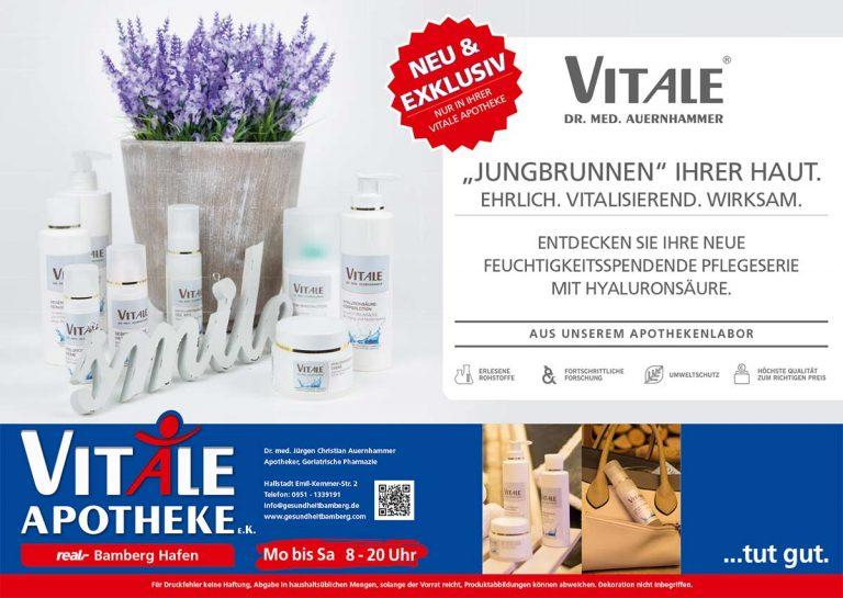 VITALE Dr. med. Auernhammer Kosmetik Plakat
