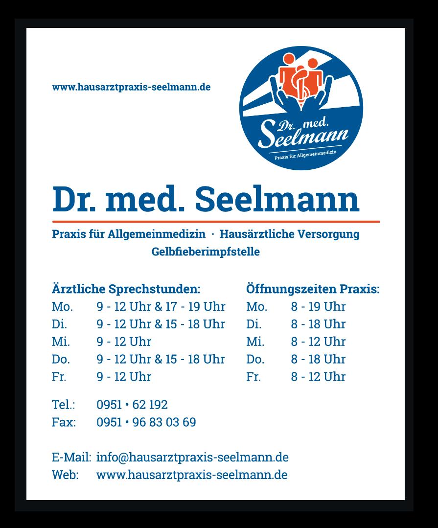 Dr Seelmann Praxisschild